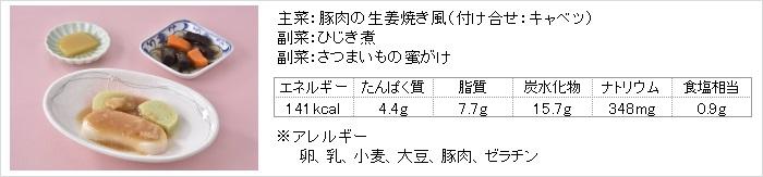 日東ベスト やわらかおかずセット4種 豚の生姜焼風
